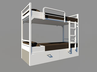 Cister Box Bunk Bed