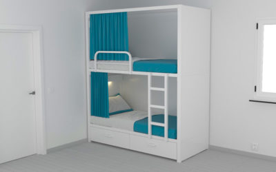 Cister Privacity Bunk Bed